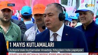 Genel Başkanımız Ramazan AĞAR 1 Mayıs'ta NTV Canlı Yayınındaydı