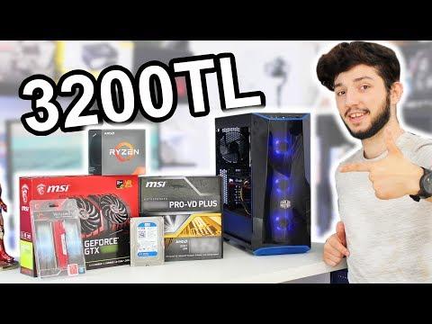 3200 TL Bütçe İle Toplama Oyun Bilgisayarı ve Oyun Performansı