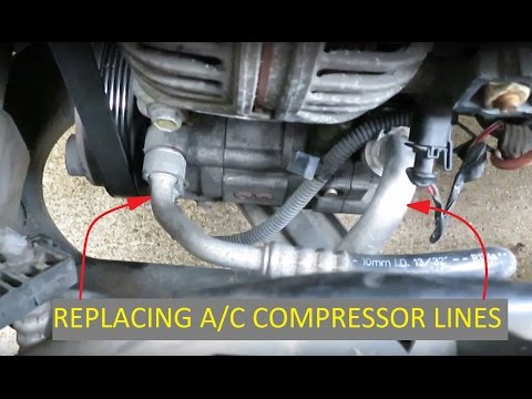 Saturn L Series A/C Line Replacement