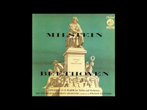 Beethoven Violin Concerto Milstein (Capitol P8313) Steinberg The Pittsburgh Symphony Orchestra