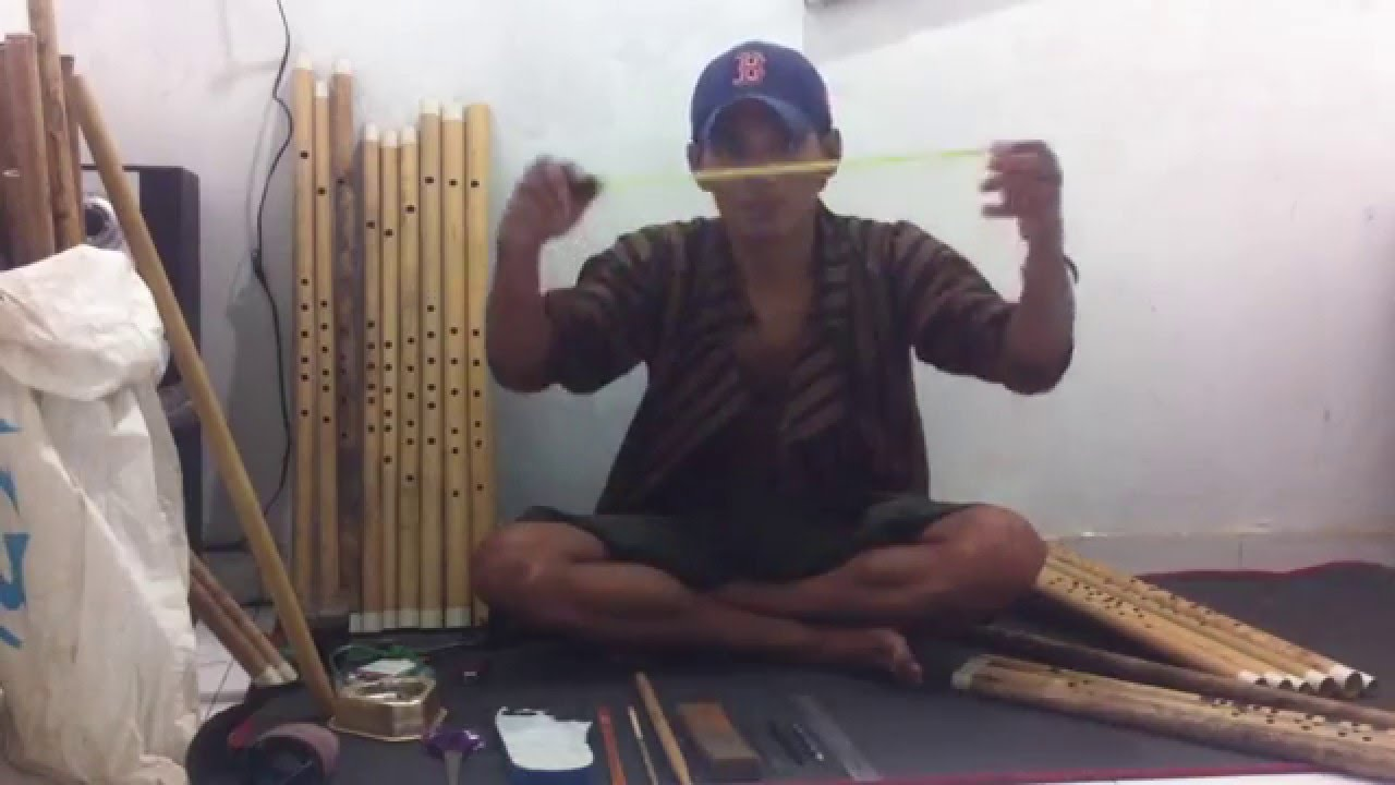 Cara Membuat SERULING Bambu