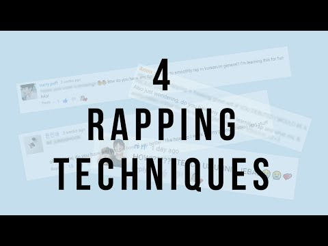 HOW TO RAP SMOOTHLY IN KOREAN | minergizer