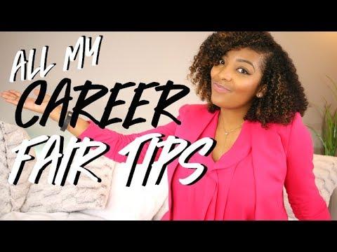 HOW TO GET A JOB AT A CAREER FAIR!