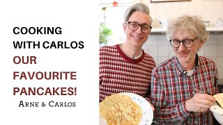 Pancakes and Knitting - Cooking with Carlos - by ARNE & CARLOS