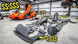 "Here's How Much It Costs To Fix My ""Cheap"" Lambo's DESTROYED Interior (100% WORTH IT!)"