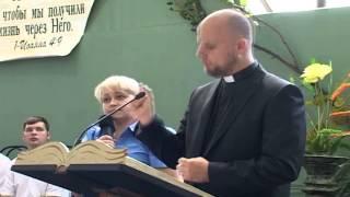 Пастор из Швеции в Мариуполе