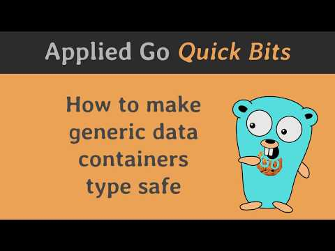 How to make generic data containers type safe
