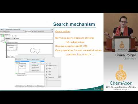 Patent Space Exploration - Tímea Polgár (ChemAxon)