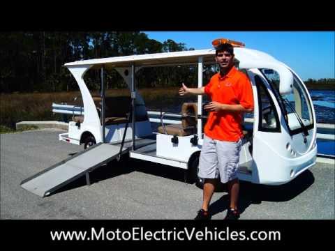 Electric Wheelchair Golf Cart Shuttle- 11 Penger ADA Electric ... on golf cart wheel accessories, motor home wheel chair, golf cart wheel blue, scooter wheel chair,