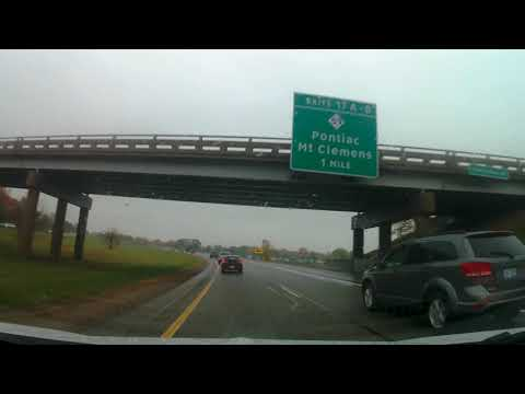 Driving from Sterling Heights, Michigan to Macomb, Michigan