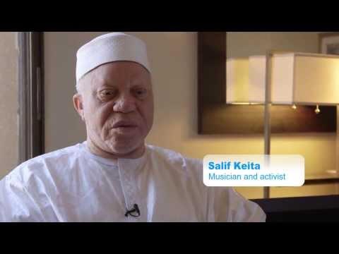 Albinism Awareness Campaign  -Salif Keita