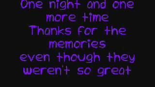 Fall out boy - Thanks For The Memories Lyrics