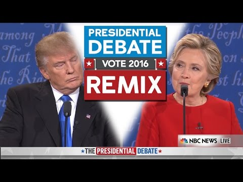 Presidential Debate 2016 REMIX - WTFBRAHH (Trump Vs Hillary)