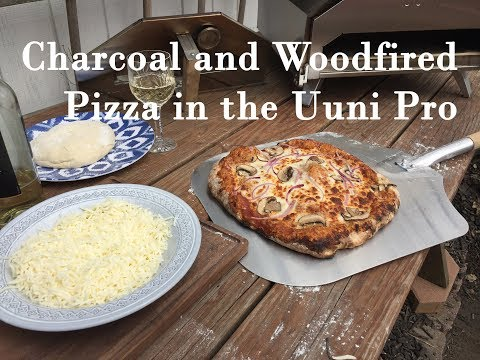Charcoal and Wood Fired Pizza in the Uuni Pro Pizza Oven