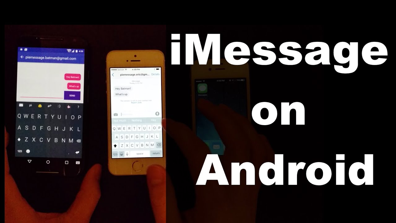How to Get iMessage on Android: 2 Easy Workarounds