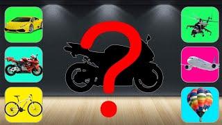TRANSPORT Motorbike, Car, Trai…