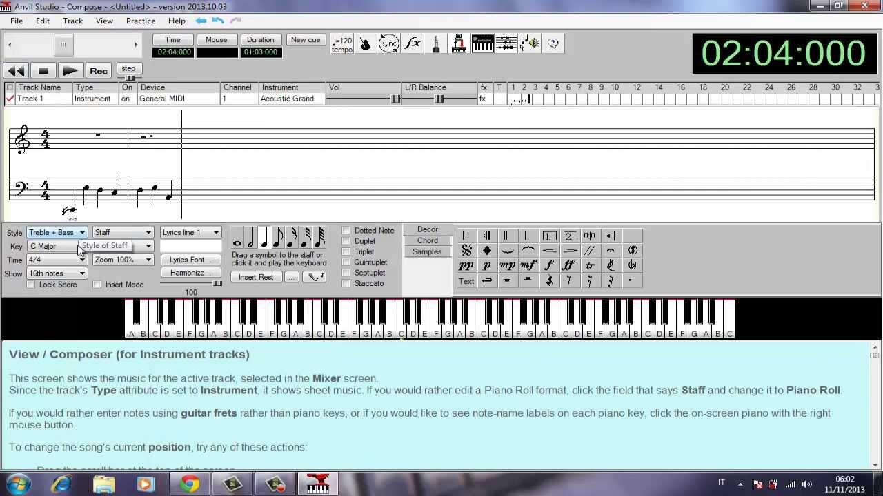 Programma per creare file midi avil studio download for Programma per creare