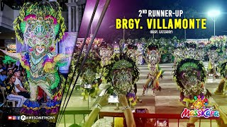 2nd RunUp - Brgy. Villamonte (Brgy. Category) - MassKara Festival 2018 thumbnail