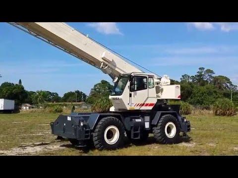 Terex Crane Tipped Springfield, Illinois