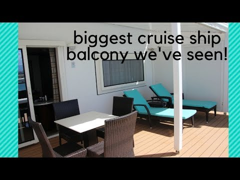 NCL Pride of America Cabin Tour - Penthouse with Large Balcony (#13512)
