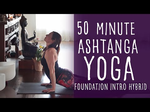 50 Minute Ashtanga Practice Yoga with Fightmaster Yoga
