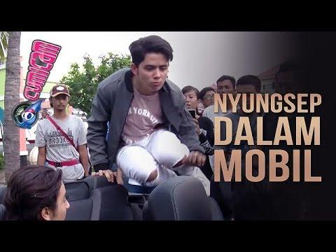 Uups! Aliando Nyungsep ke Dalam Mobil Verrell - Cumicam 23 November 2017