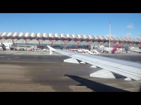 Iberia Flug IB3137 Düsseldorf - Madrid-Barajas Flight IB 3137 30.3.2018