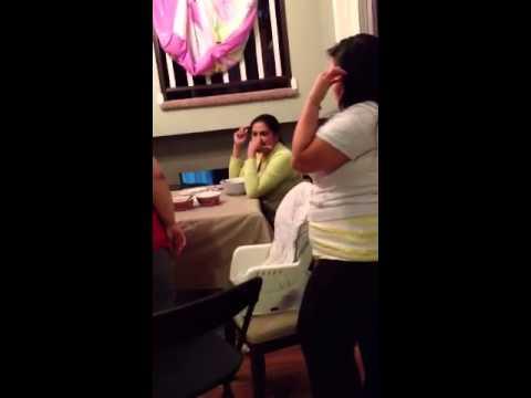 US Marine little sister surprise home prank