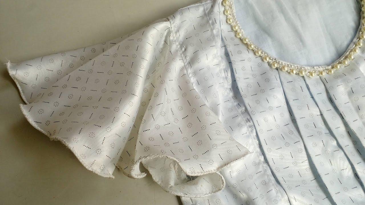 e9d3cc54eb Umbrella Sleeve   Circular Sleeve   DIY Easy Cutting   Stitching    StitchingMall Exclusive - YouTube