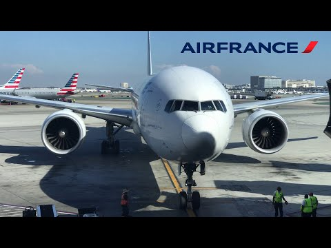 Air France Boeing 777-300ER, Los Angeles LAX to Paris CDG [FULL FLIGHT REPORT]