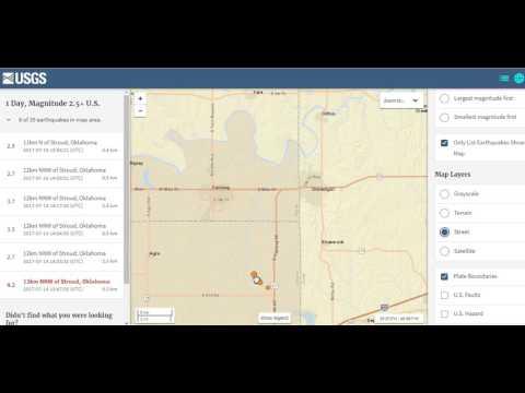 Oklahoma Earthquake swarm Pregnancy issues July 2017