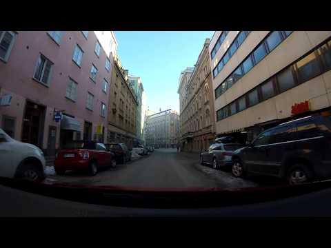 【4K】Freezing Day Drive, Part 2 Helsinki