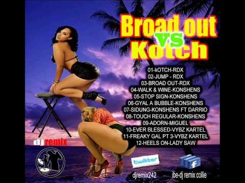 Broad Out Vs Kotch / DAGGERING &  DANCEHALL MIXTAPE 2013 - Dj Remix