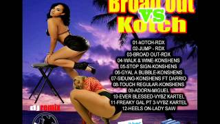 Broad Out Vs Kotch / DAGGERING &  DANCEHALL MIXTAPE 2013 - Dj Remix