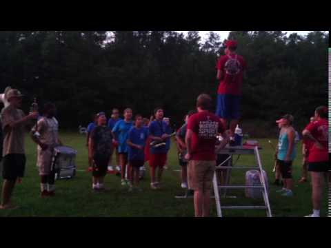 Red Regiment Band Band Camp 2016 Dismissal (Berry High School)