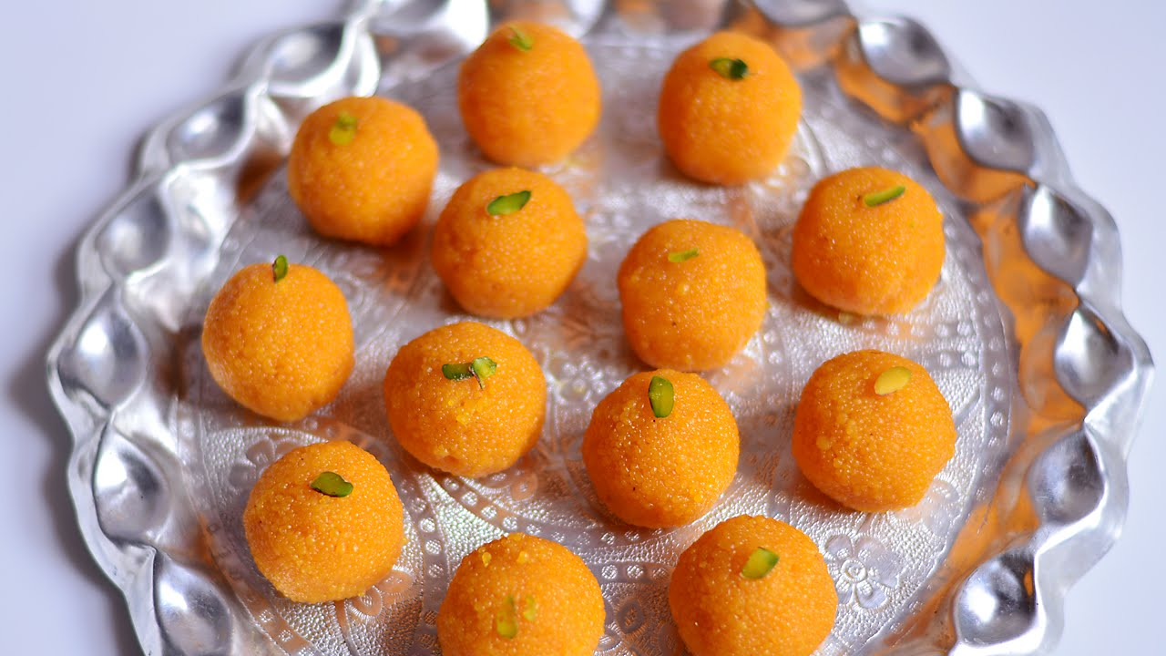 How To Make Motichoor Ladoo At Home