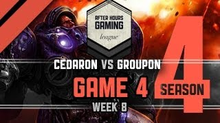 AHGL Week 8 - Cedaron vs Groupon - G4