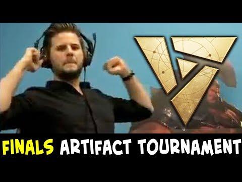 heffaklumpen vs Mogwai — FINALS of $10,000 Artifact open tournament
