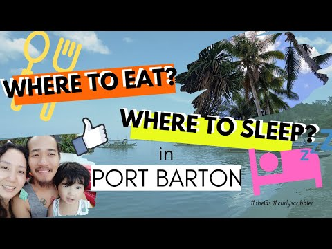 Where To Eat & Sleep At Port Barton | BUDGETARIAN Traveler | San Vicente, Palawan, Philippines