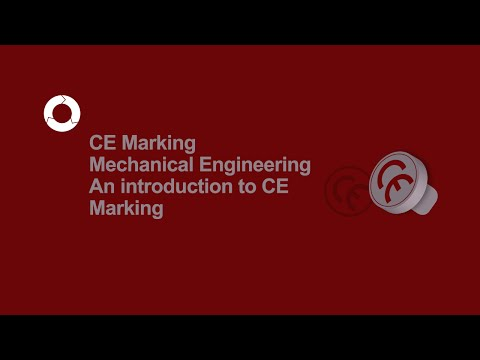 CE Marking Mechanical Engineering | An introduction to CE Marking | #1