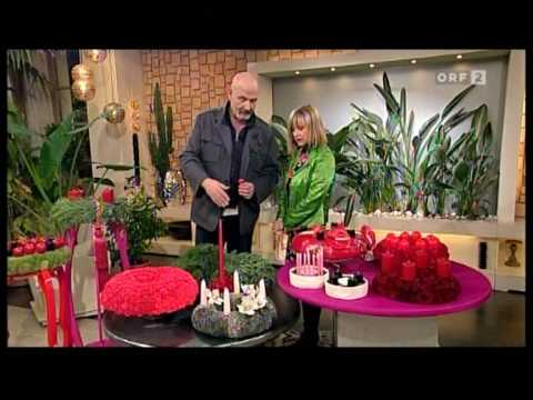 wolfgang rauber in orf 2 herbstzeit deko roter advent youtube. Black Bedroom Furniture Sets. Home Design Ideas