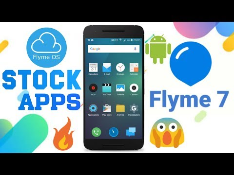 Flyme 7 Stock Apps||Launcher,Camera,Assistant,File manager,Gallery