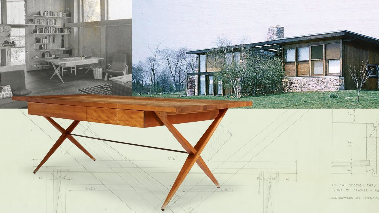 The Louis Kahn Desk For The Weiss House