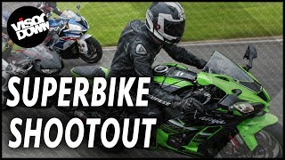 2017 in-line-four superbike shootout - incredible track test showdown | superbike review