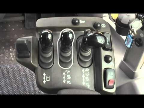 3. Volvo hjullastare körinstruktion: Instrument och reglage