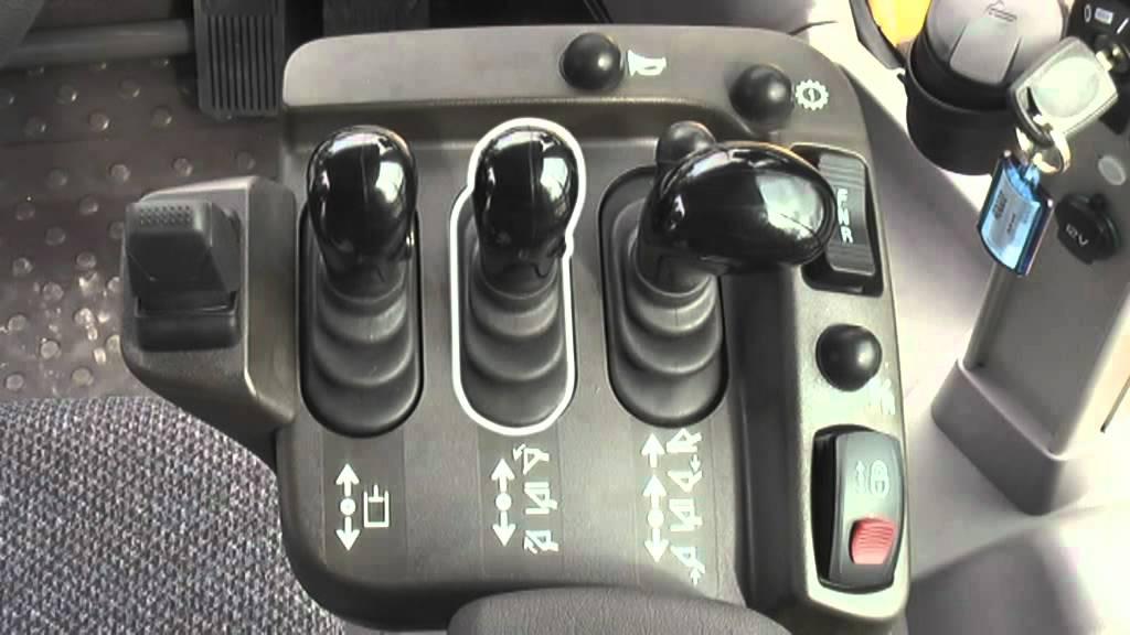 3. Volvo hjullastare körinstruktion: Instrument och reglage - YouTube