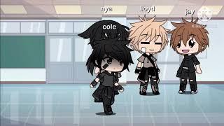 Cole x villian kai||ninjago|