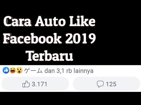 Cara Auto Like FB Terbaru 2019