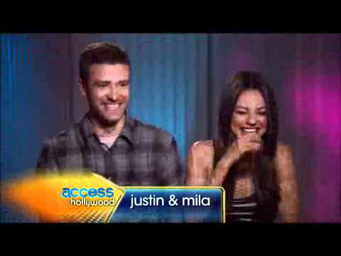 Justin & Mila Reveal The Naked Truth Behind 'Friends With Benefits'