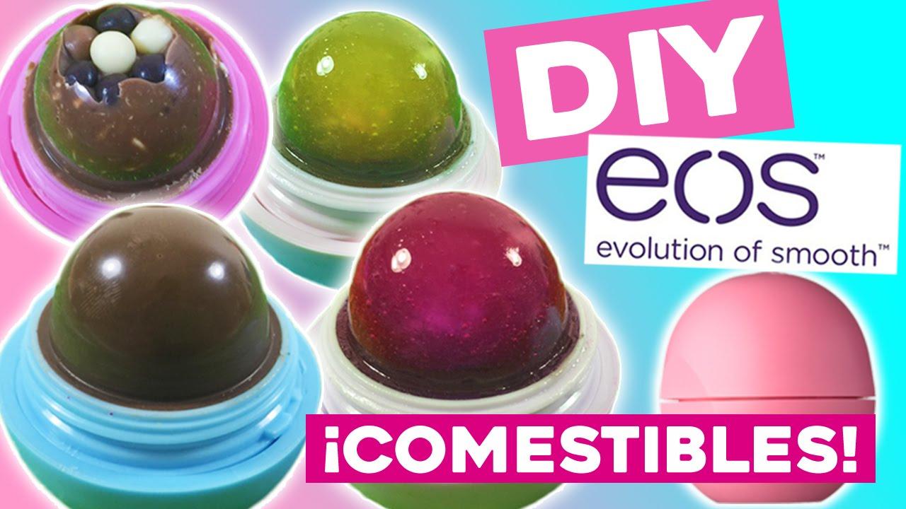 DiyCómo En Eos 5 Labiales Hacer Recetas Comestibles Dulces Tus TFK1lJuc3